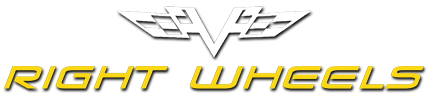 Right Wheels, LLC. Logo