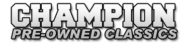 Champion Pre-Owned Classics Logo