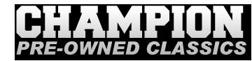 Champion Pre-Owned Classics Logo