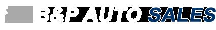 B & P Auto Sales Logo