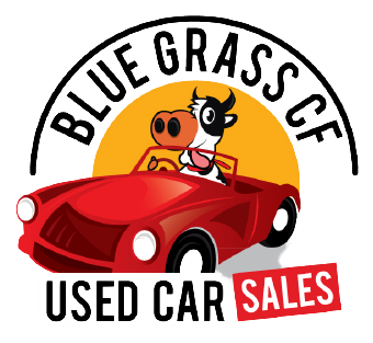 Bluegrass CF Used Car Sales Logo