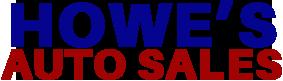 Howe's Auto Sales Logo