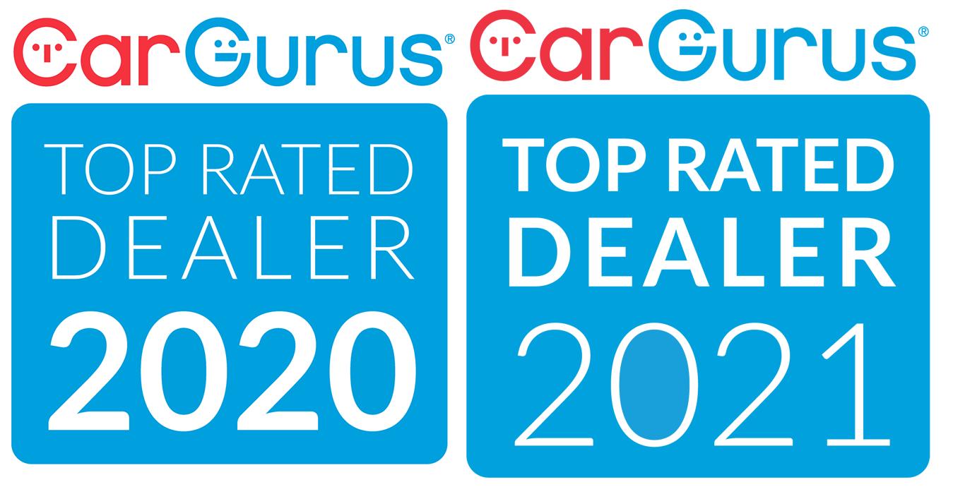 CarGurus Top Rated Dealer 2020 & 2021