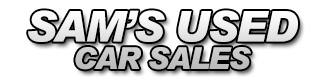 Sam's Used Car Sales Logo