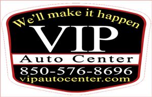 VIP Auto Center Logo