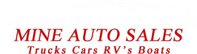 Mine Auto Sales Logo