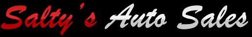 Salty's Auto Sales Logo