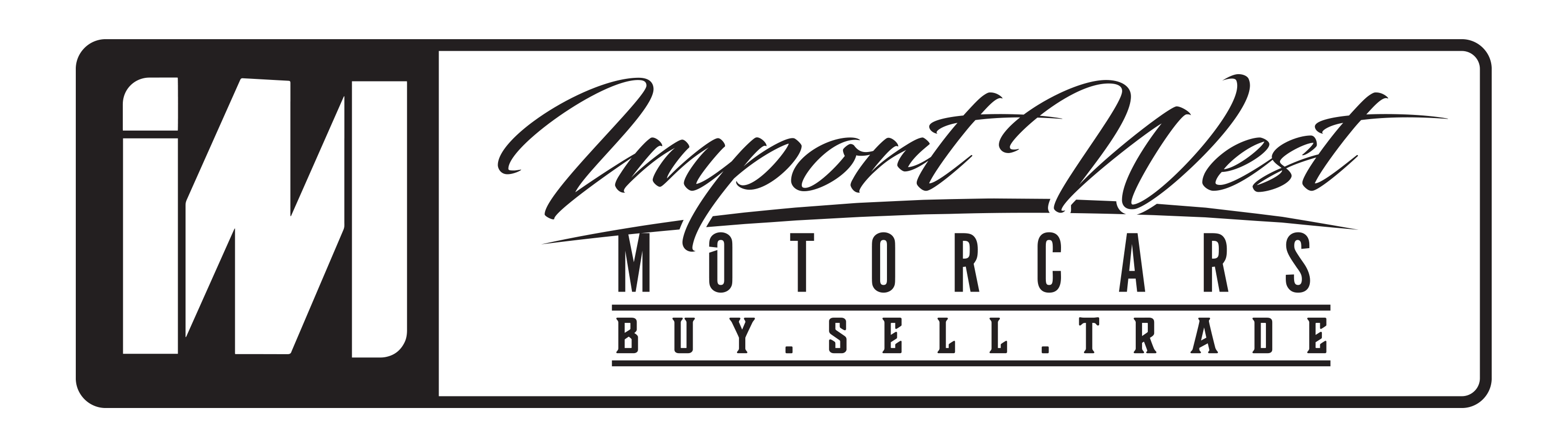 Import West Motorcars Logo