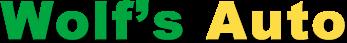 Wolf's Auto Logo
