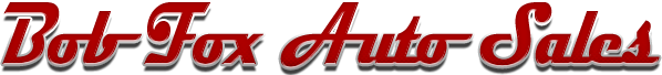 Bob Fox Auto Sales Logo