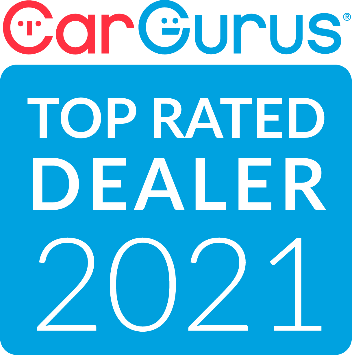 CarGurus Top Rated Dealer 2021 Badge