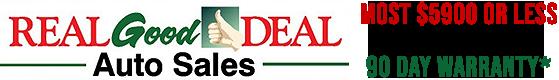 Real Good Deal Auto Sales Logo
