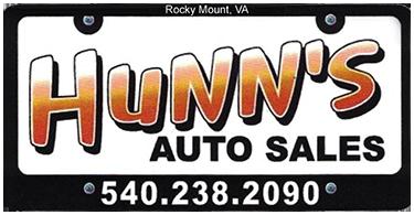 Hunn's Auto Sales Logo