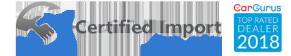 Certified Import Auto Sales Logo