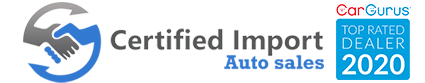 Certified Import Auto Sales Logo