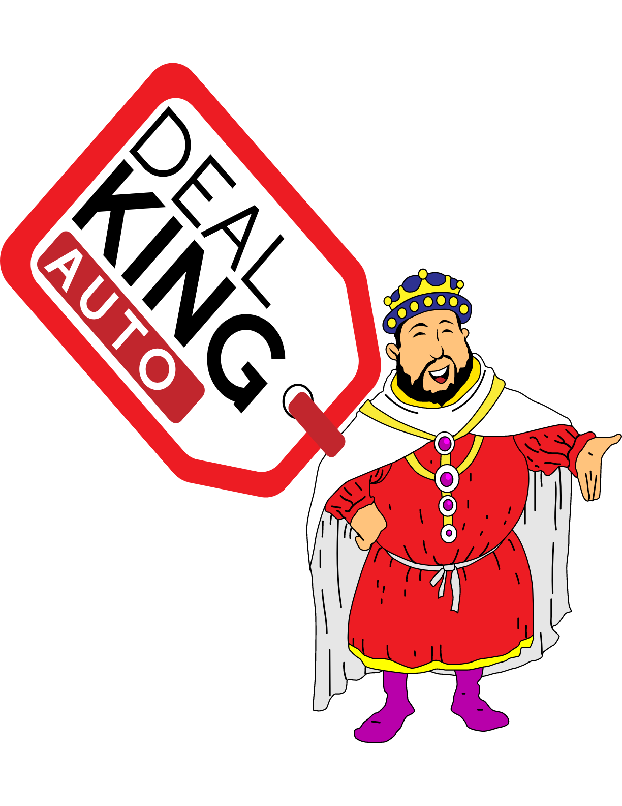 Deal King Adrian Logo