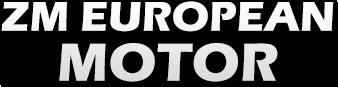 ZM European Motor Logo