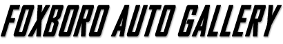Foxboro Auto Gallery Logo