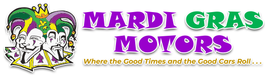 Mardi Gras Motors Logo
