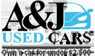 A & J Used Cars Logo