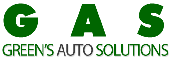 Green's Auto Solutions Logo
