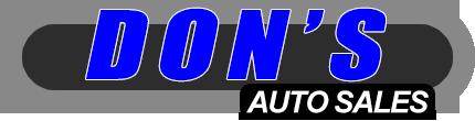 Don's Auto Sales Logo
