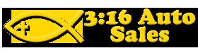 3:16 Auto Sales LLC Logo