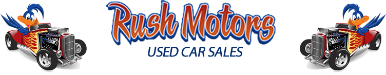 Rush Motors Used Car Sales Logo