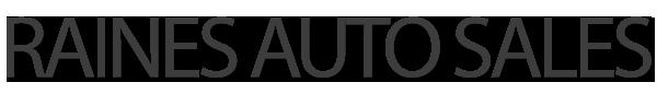 Raines Auto Sales Logo
