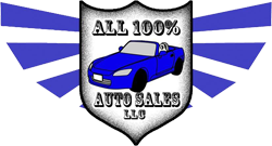 All 100% Auto Sales  Logo