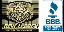 New Legacy Automotive Company Logo