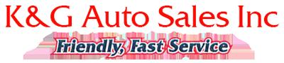 K & G Auto Sales, Inc Logo