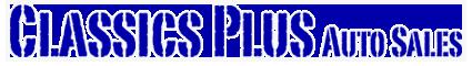Classics Plus Auto Sales Logo