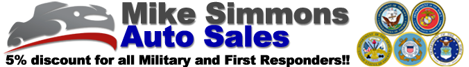 Mike Simmons Auto Sales Logo