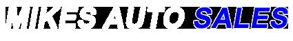 Mikes Auto Sales Logo