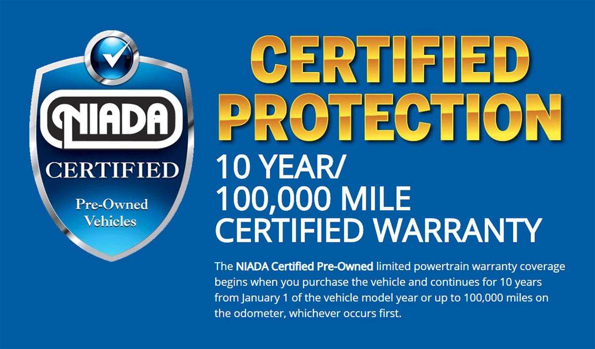 NIADA Certified Protection
