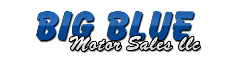 Big Blue Motor Sales Logo