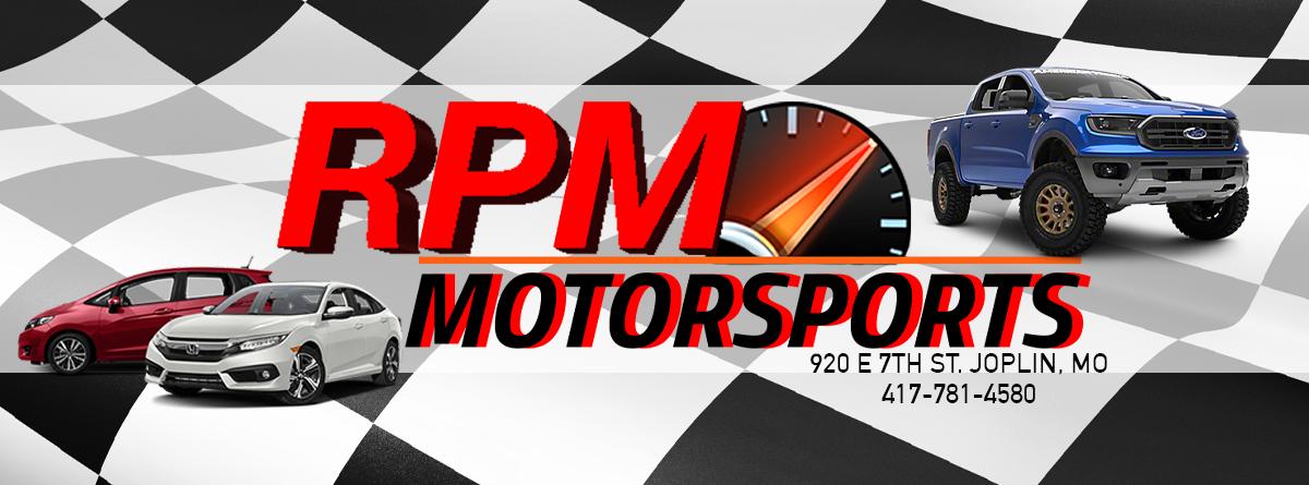 RPM Motorsports LLC       Logo