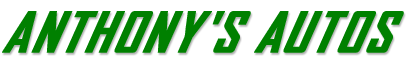 Anthony's Autos Logo