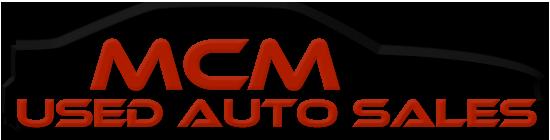 MCM Used Auto Sales LLC Logo