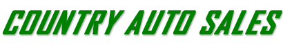 Country Auto Sales Logo