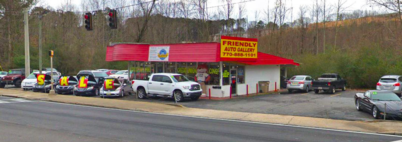 Dealership photograph of Friendly Auto Gallery