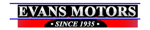 Evans Motors Logo