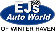 EJ's Auto World Winter Haven Logo
