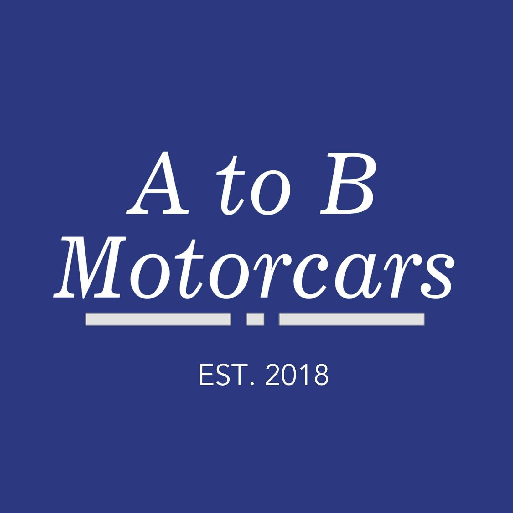 A to B Motorcars Logo