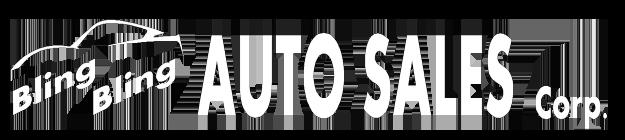 Bling Bling Auto Sales Logo