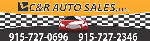 C & R Auto Sales LLC Logo