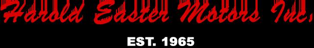 Harold Easter Motors Logo
