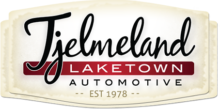 Tjelmeland Laketown Automotive Logo