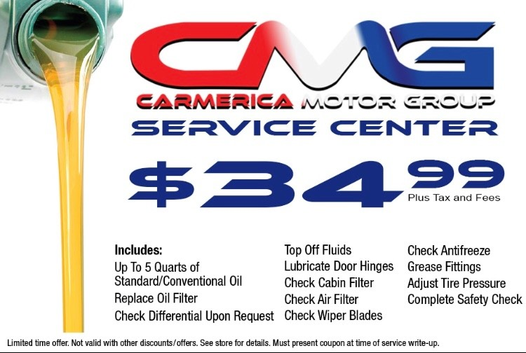 Service center $34.99 Coupon